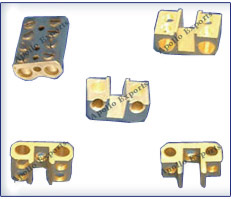 Brass Fuse Parts, Brass contacts Fuse Parts, Brass HRC Fuse Contact, Brass mem Fuse, Brass Sell Fuse Clip, Brass Fittings & Fuse Parts, Brass Fuse Connectors, Brass HRC Fuse Parts
